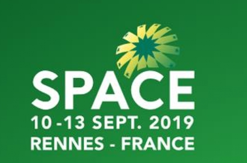 Space, Frankreich September 2019