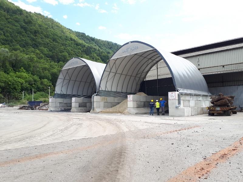 Asphaltmischanlagen - Frankreich - WINOA