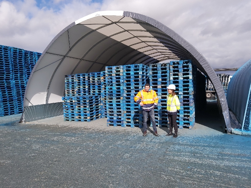 Palettenrecycling - FRANKREICH - SARL CRISPA