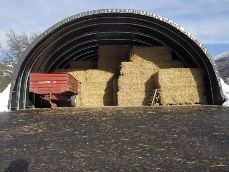 Lagerung von Futtermitteln - Frankreich